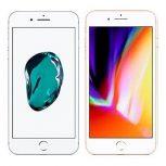 Apple iPhone 7 Plus, Apple iPhone 8 Plus