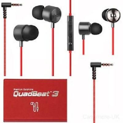 LG LE630 EAB63728202 QuadBeat 3 vezetékes Stereo Headset fekete