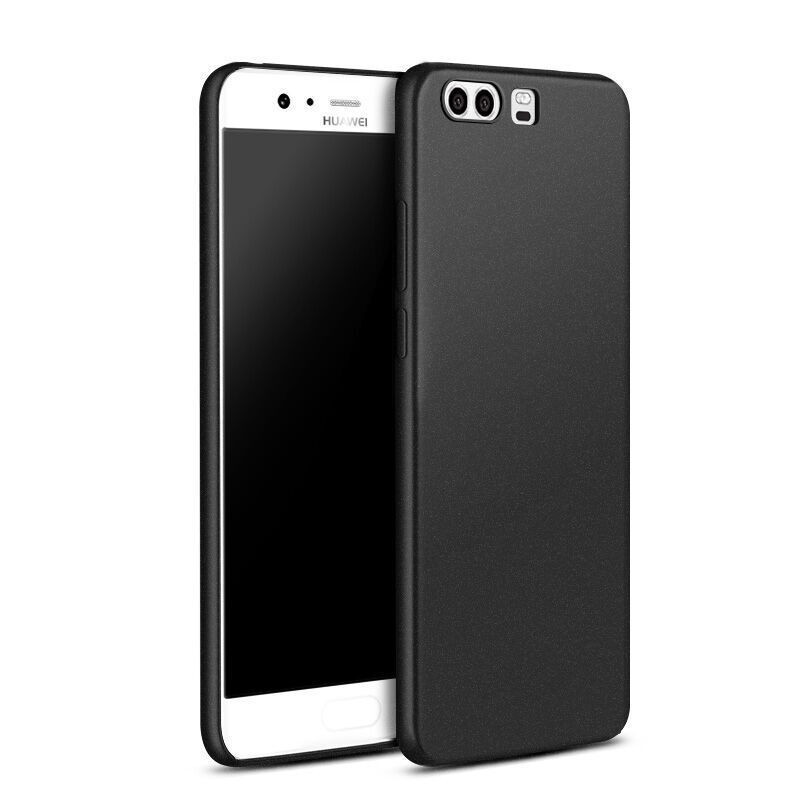 Huawei Y7 Prime (2018) fekete MATT vékony szilikon tok